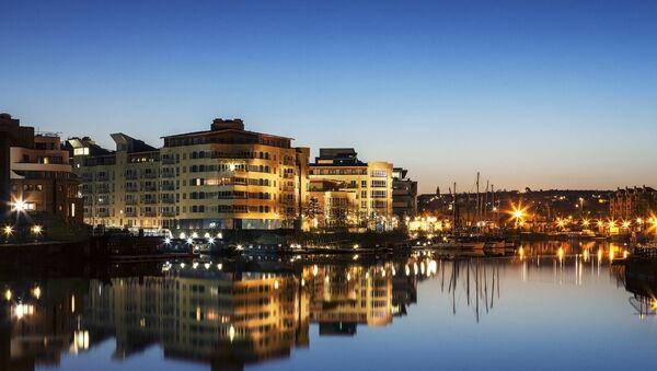 Вид на Бристоль, Великобритания. Архивное фото