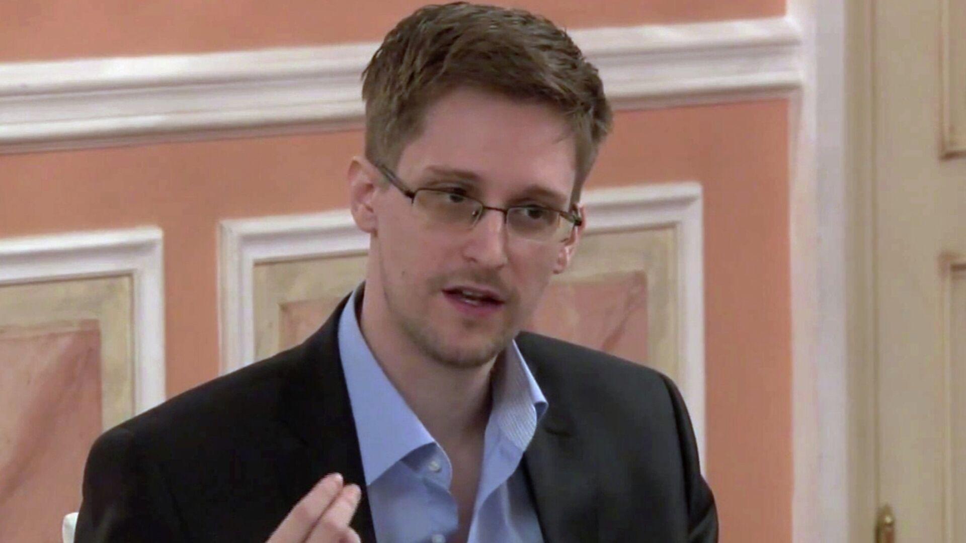 Эдвард Сноуден - РИА Новости, 1920, 01.12.2020
