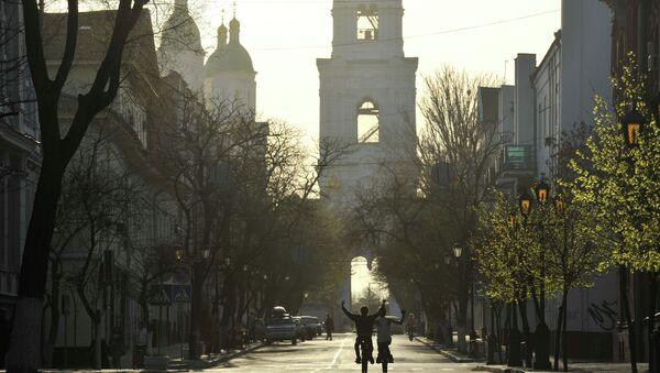 Города России. Астрахань. Архивное фото