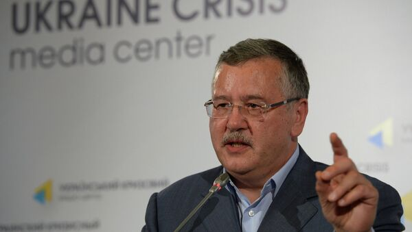Бывший министр обороны Украины Анатолий Гриценко. Архивное фото