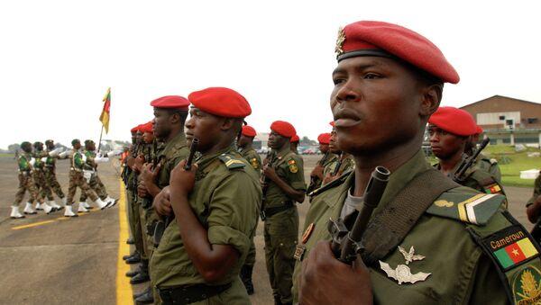 Военные Камеруна. Архивное фото