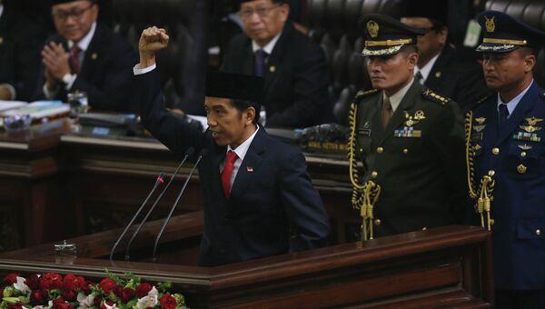 Инаугурация президента Индонезии Джоко Видодо