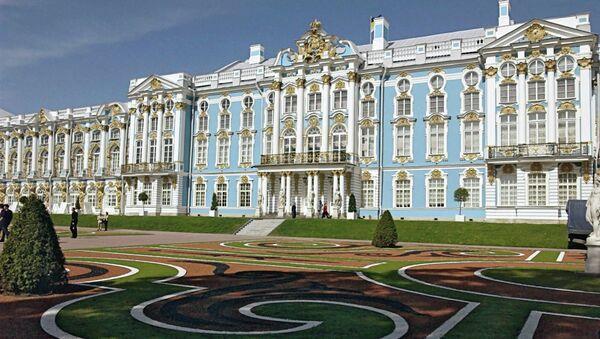 Екатерининский дворец в Царском селе. Архивное фото