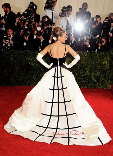 Американская актриса Сара Джессика Паркер. Нью-Йорк, 2014 год