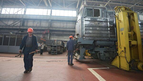 Луганский тепловозостроительный завод. Архивное фото