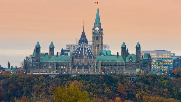 Здание парламента Канады в Оттаве