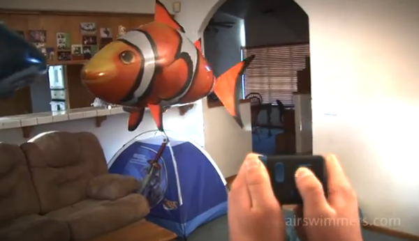Внимание: летающие рыбы атакуют!