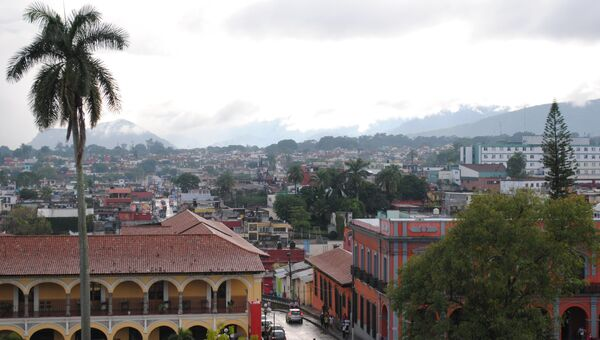 Виды Мексики, архивное фото