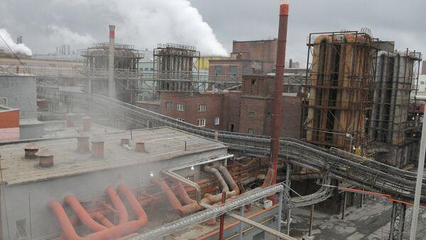Работа Челябинского цинкового завода. Архивное фото
