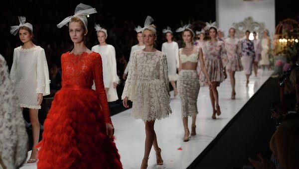 Mercedes-Benz Fashion Week Russia. Архивное фото