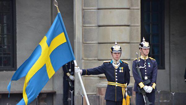 Шведская королевская стража. Архивное фото.