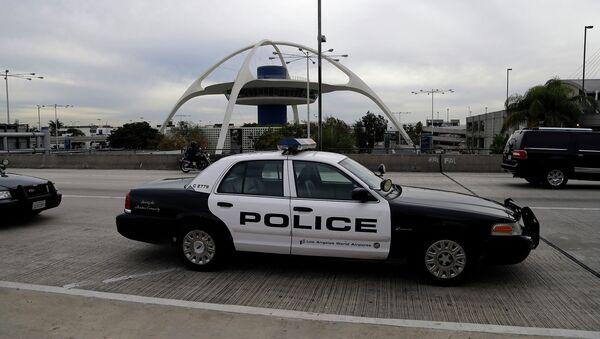 Полицейская патрульная машина. Лос-Анджелес, Калифорния