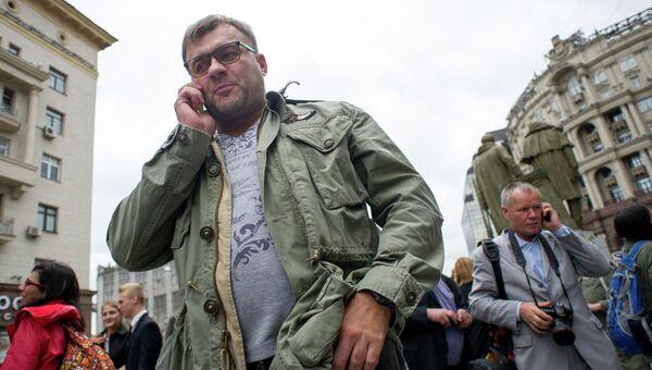 Актер Михаил Пореченков, архивное фото