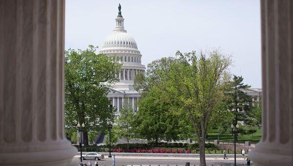 Здание Конгресса Сша в городе Вашингтон, архивное фото