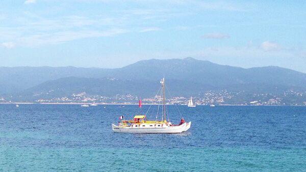 Вид с острова Корсика