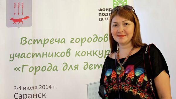 Директор фонда Семья для ребенка Ольга Вешникова