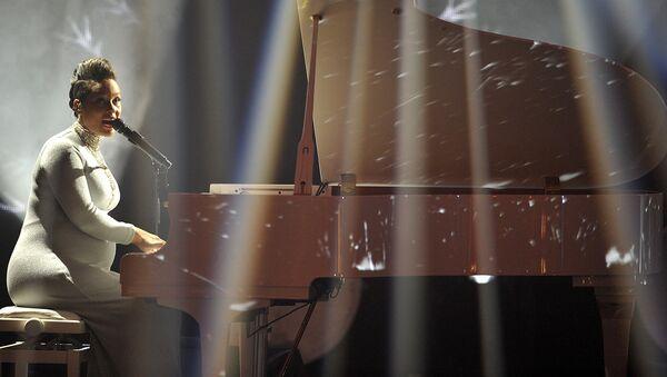 Алиша Киз на церемонии MTV Europe Music Awards - 2014. Архивное фото