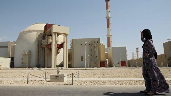 Первый энергоблок атомной электростанции Бушер в Иране