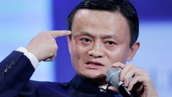 Китайский бизнесмен Джек Ма, основатель интернет-компании Alibaba Group. Архивное фото