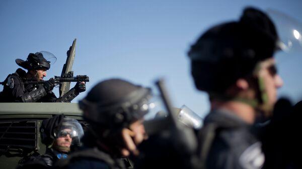 Сотрудники полиции Израиля