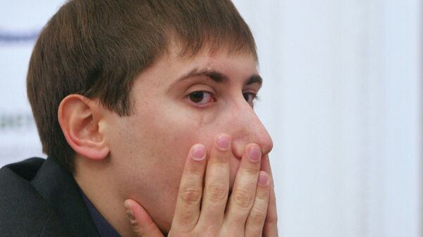 Шахматист Дмитрий Яковенко. Архивное фото