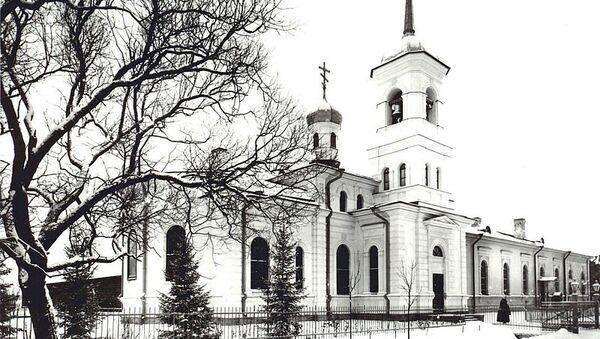 Храм во имя преподобного Сергия Радонежского, построенный для  лейб-гвардии 2-го Царскосельского стрелкового батальона