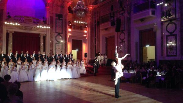 Солисты балета Венской оперы Кирилл Курлаев и Нина Полякова