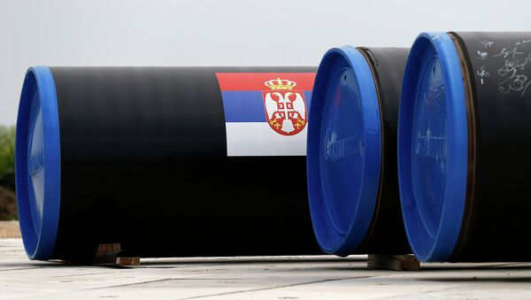 Газопровод Южный поток. Архивное фото