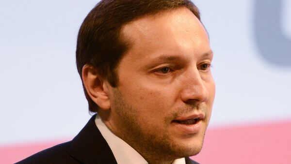 Министр информационной политики Юрий Стець. Архивное фото