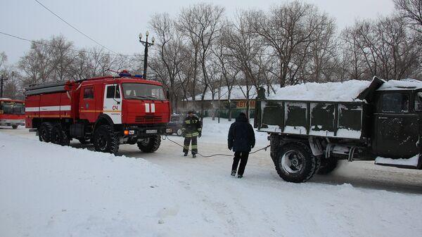 Последствия циклона в Хабаровском крае