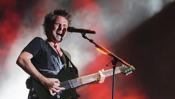 Фронтмен группы Muse - Мэттью Беллами