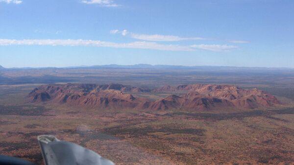 Кратер от метеорита Gosses Bluff, Северная территория Австралии