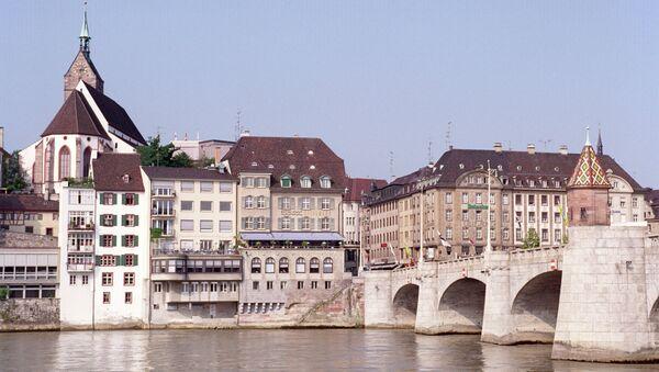 Мост через Рейн в Базеле. Архивное фото