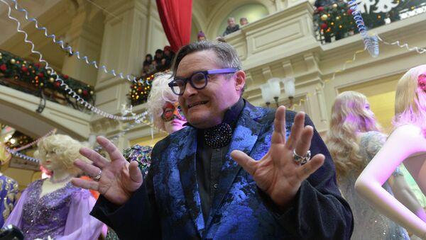 Ведущий программы Модный приговор Александр Васильев. Архивное фото
