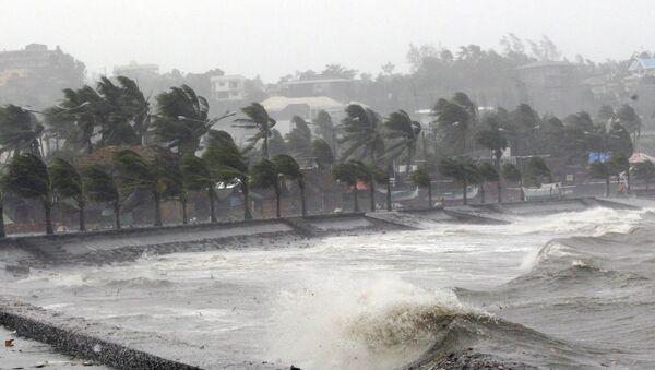 Тайфун Хагупит на Филиппинах 07.12.2014