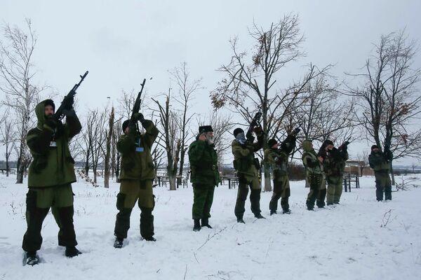 Обстановка на юго-востоке Украины