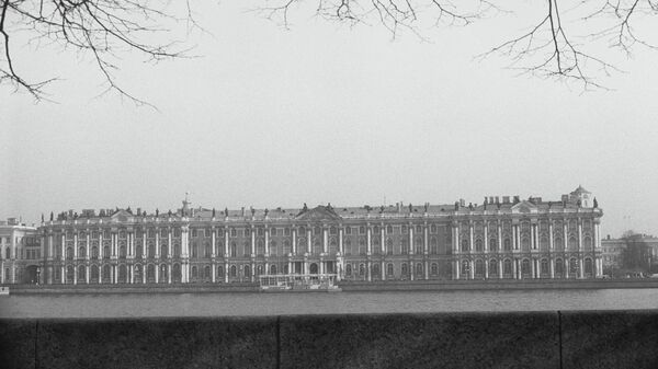 Здание Эрмитажа в Ленинграде