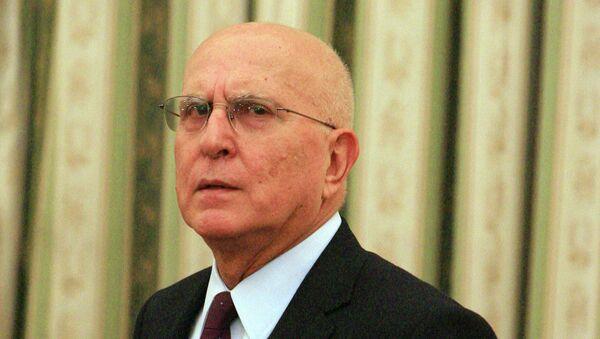 Экс-комиссар ЕС Ставрос Димас. Архивное фото