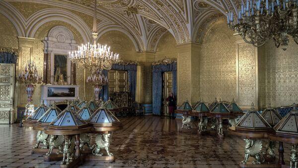 Государственный Эрмитаж в Санкт-Петербурге. Архивное фото