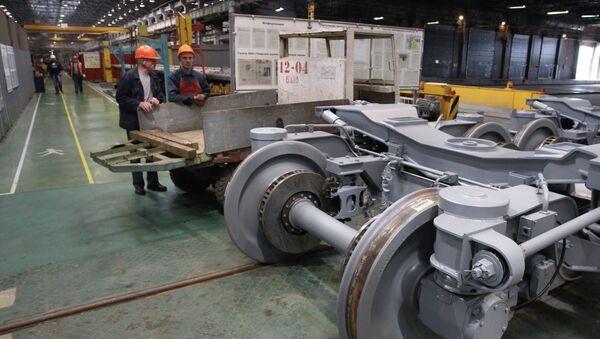 Работа вагоностроительного завода Трансмашхолдинг