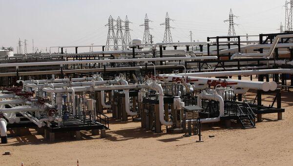 Нефтепровод на территории Ливии