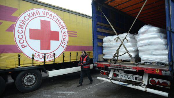 Московский Красный Крест отправил гуманитарную помощь в Луганск
