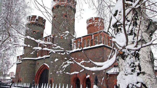 Зимние виды города Калининграда. Архивное фото