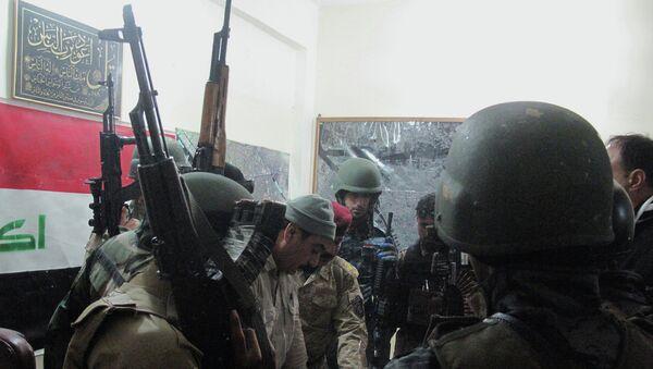 Иракские силы безопасности. Архивное фото