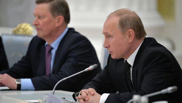 Владимир Путин провел встречу с представителями деловых кругов