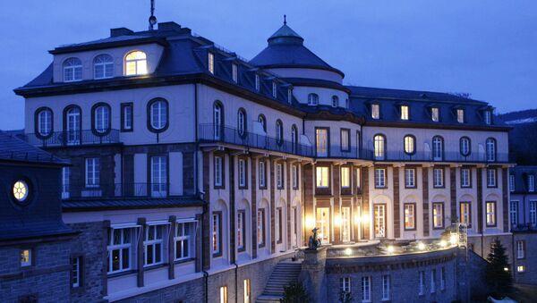 Отель под Баден-Баденом, Германия. Архивное фото