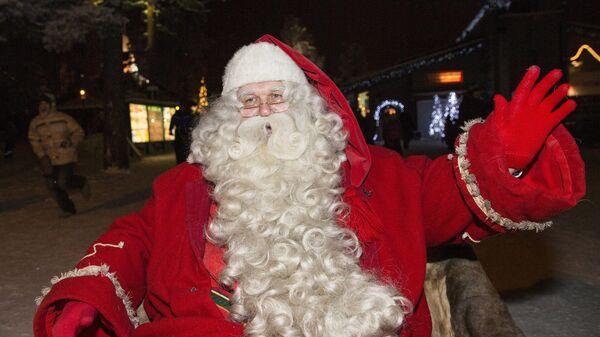 Санта-Клаус. Архивное фото