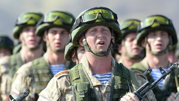 Военнослужащие ВС РФ. Архивное фото