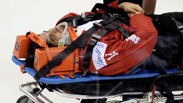 Игрок сборной Швейцарии Фил Бальтисбергер