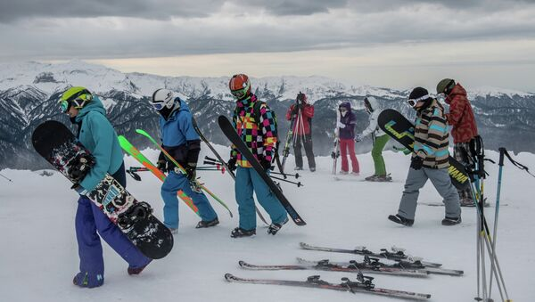 Открытие горнолыжного сезона на курорте Роза Хутор. Архивное фото